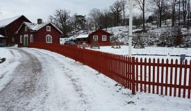 Stängsel Göteborg staket