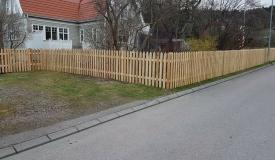 bygga staket kostnad