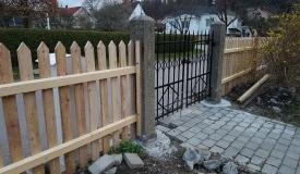 bygga staket själv