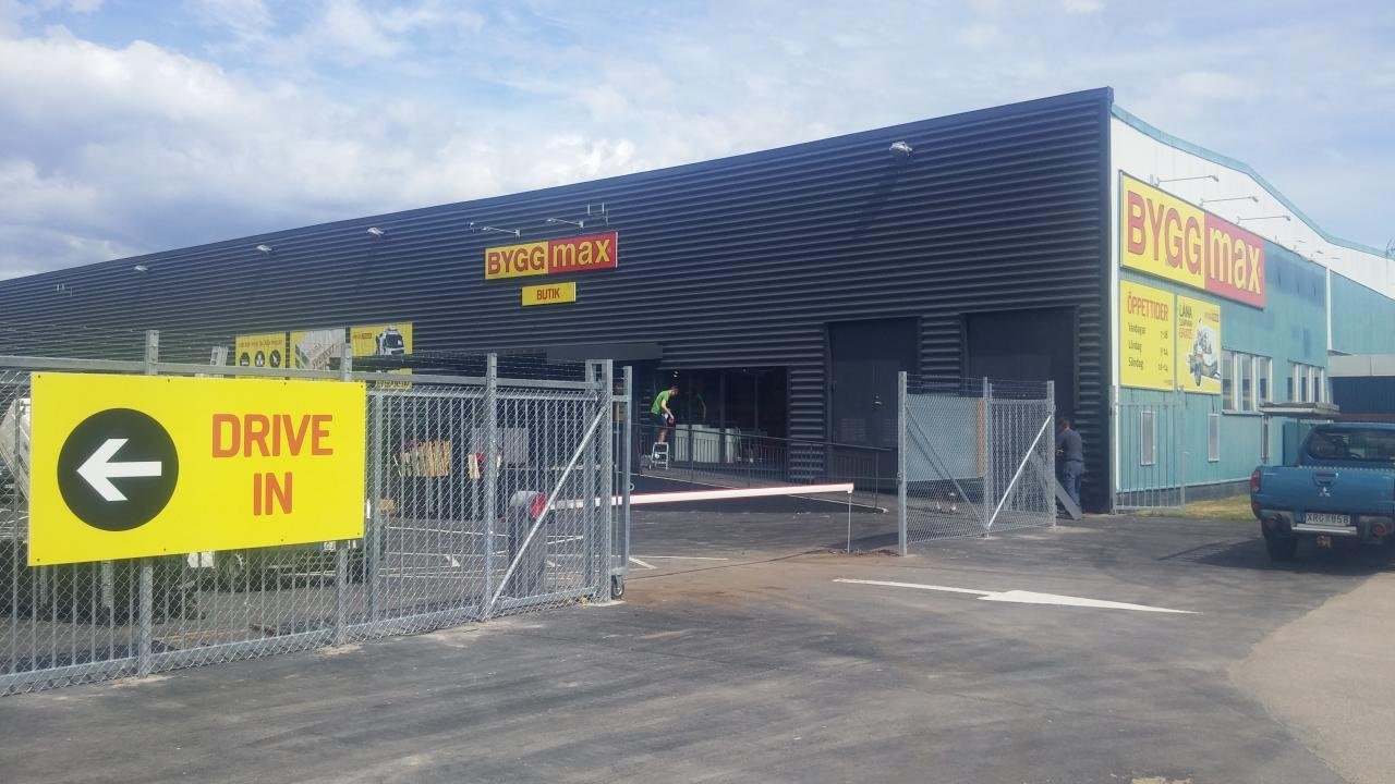 Industristängsel Karlshamn