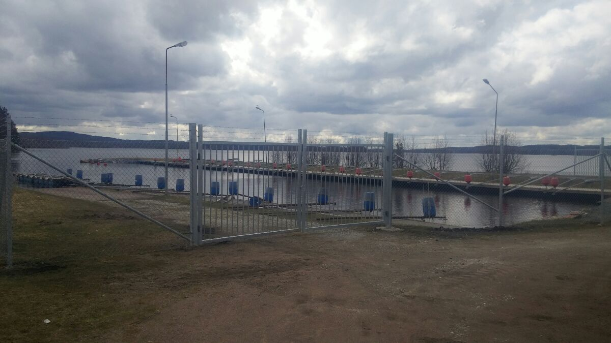 Industristängsel Kristinehamn