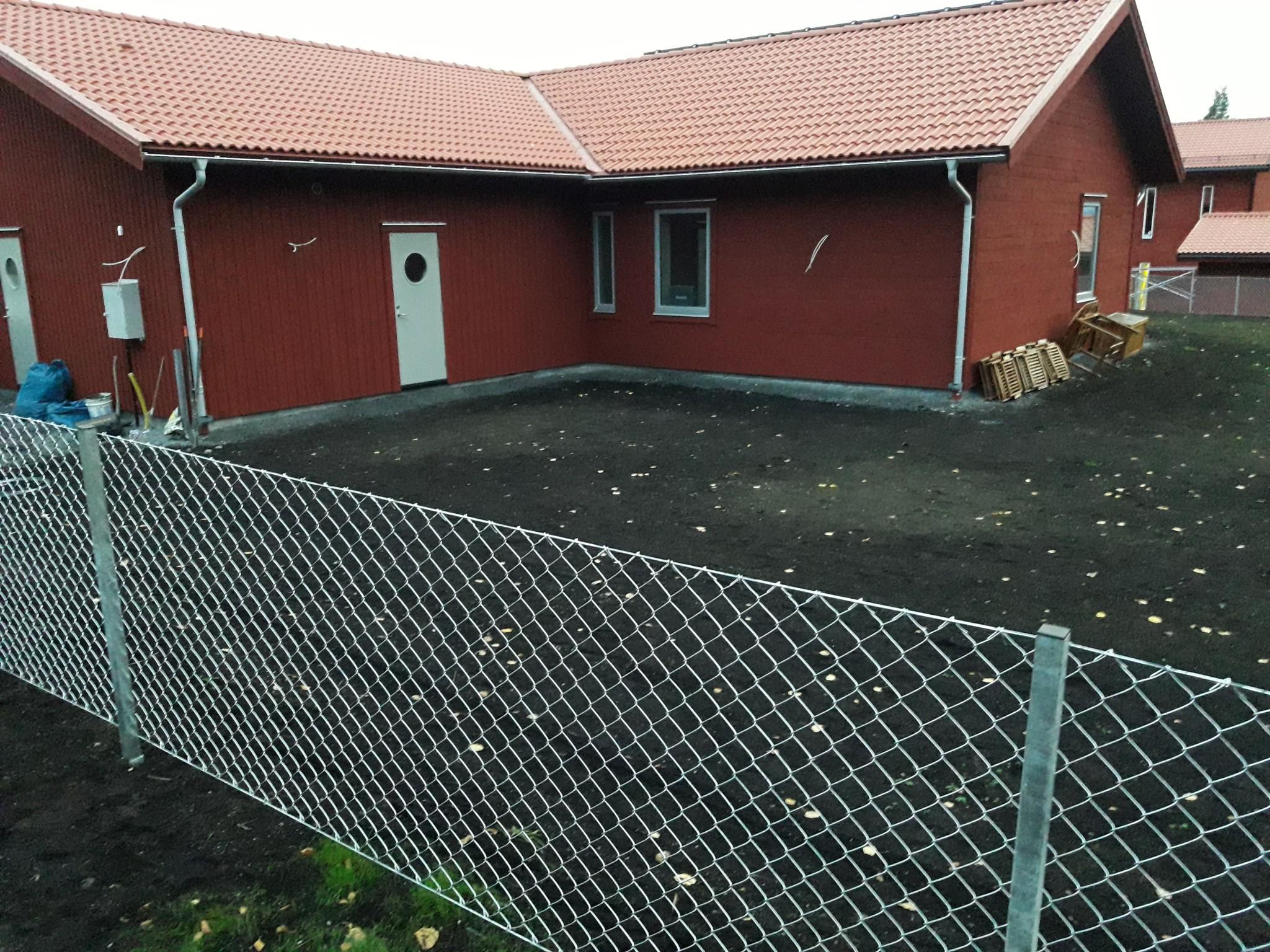 Krokom staket stängsel