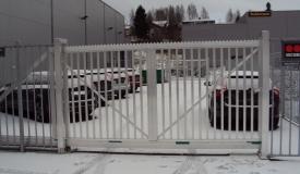 Stängsel Aluminium grind