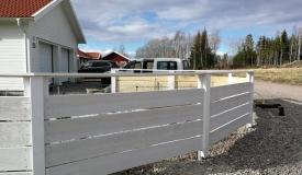 Bygga trästaket i Västerås 2