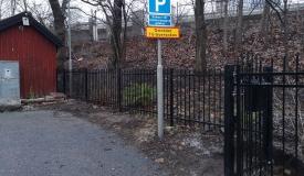 stängsel Stockholm