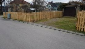 bygga staket liggande ribbor