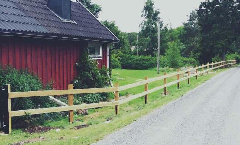 Trästaket Karlshamn