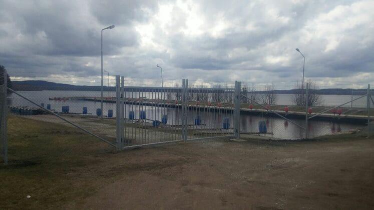 Industristängsel